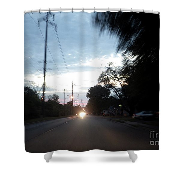 The Passenger 05 Shower Curtain