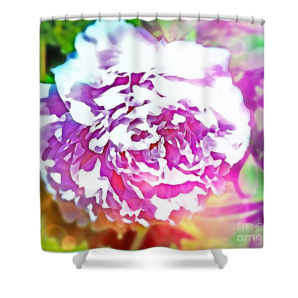 The Peony Shower Curtain