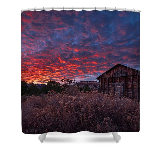 The Perfect Sunset Shower Curtain