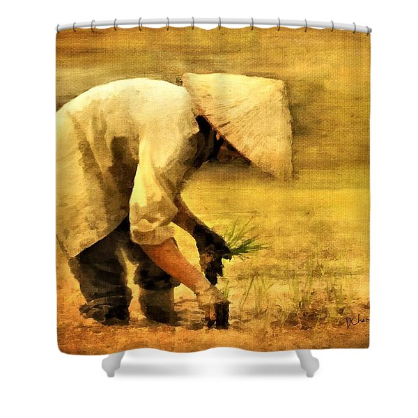 The Planter Shower Curtain