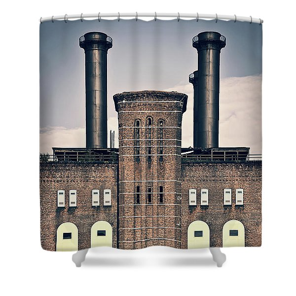 The Powerhouse, Jersey City Shower Curtain
