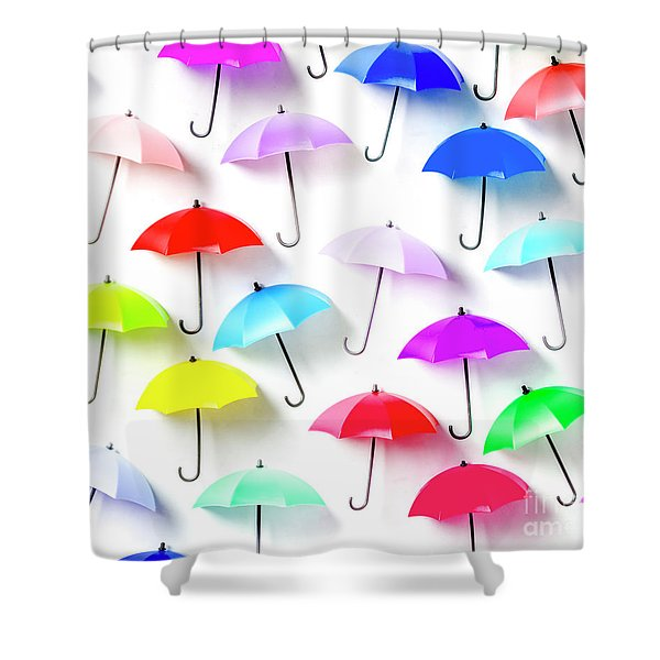 The Rain Collection Shower Curtain