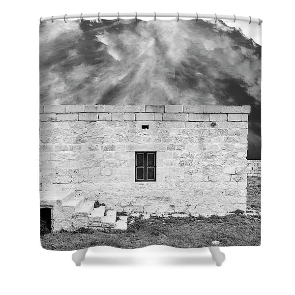 The Ramparts Shower Curtain