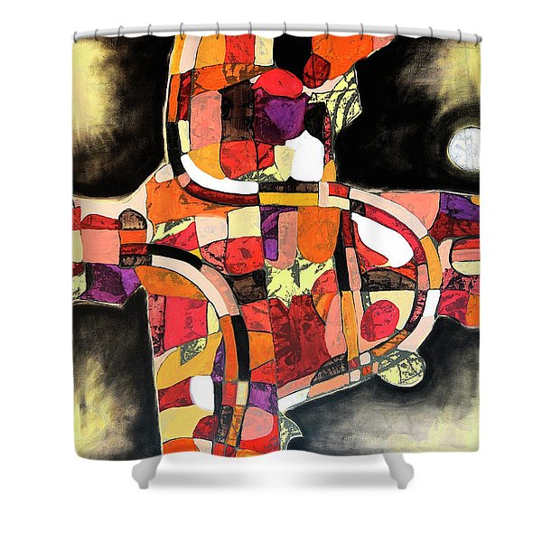 The Reeping Shower Curtain