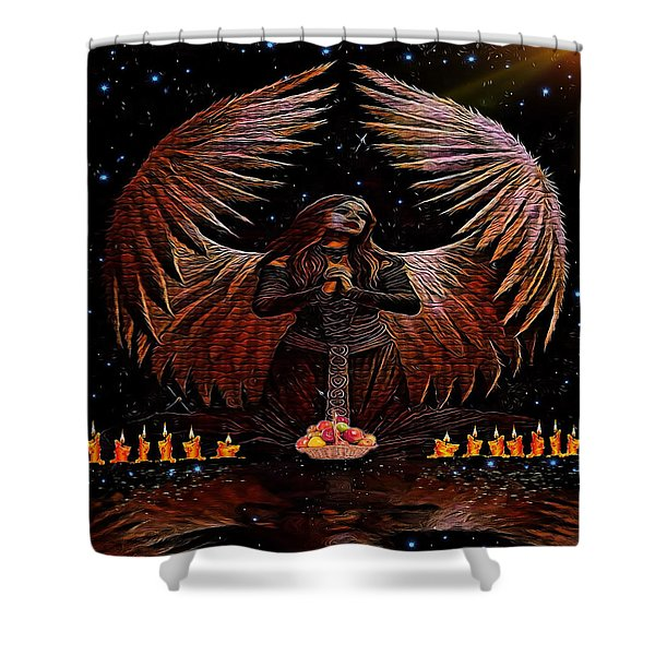 The Request Shower Curtain