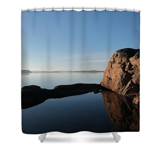 The Rock Shower Curtain