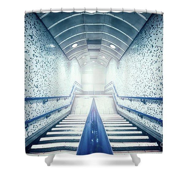 The Rundown Shower Curtain
