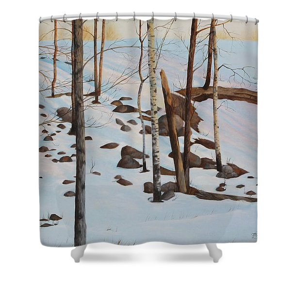 The Sentinels Shower Curtain