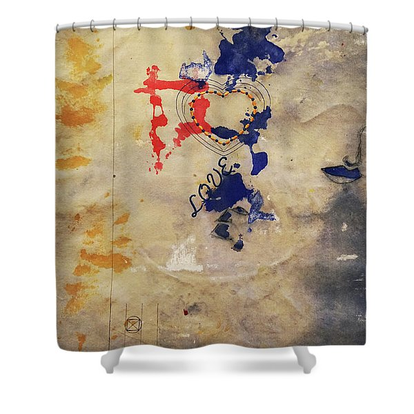 The Shadows Of Love Shower Curtain