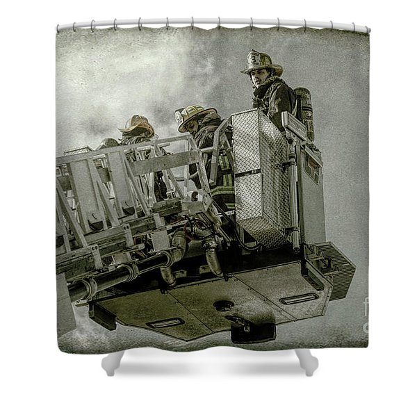 The Southside 3 Shower Curtain