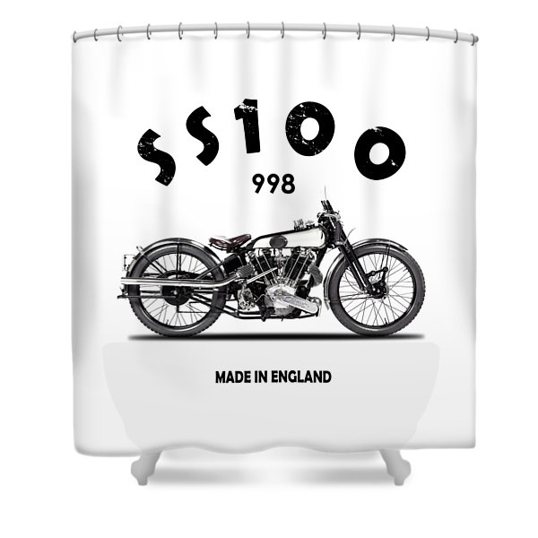 The Ss 100 1925 Shower Curtain
