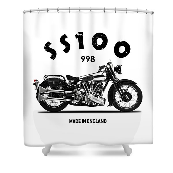 The Ss100 1938 Shower Curtain