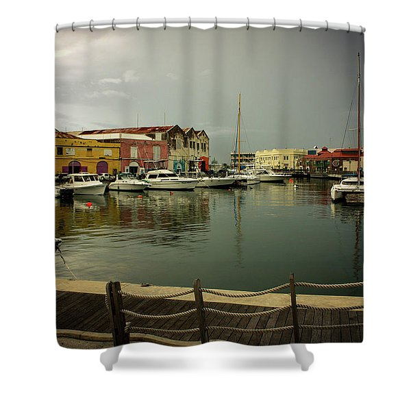 The Storm's A Coming. Shower Curtain