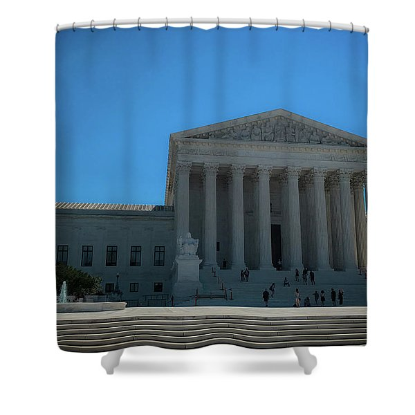 The Supreme Court Shower Curtain