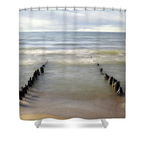 The Test Of Time Shower Curtain
