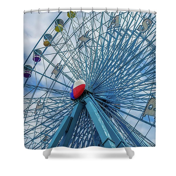 The Texas Star, State Fair Of Texas Shower Curtain