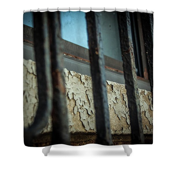 The Texture Of Time Shower Curtain