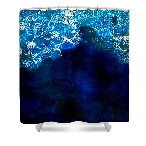 The Tide Is High Shower Curtain