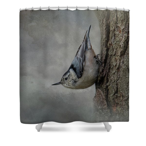 The Tree Walker Shower Curtain