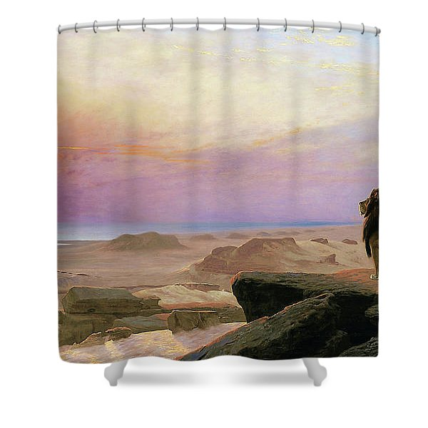 The Two Majesties - Digital Remastered Edition Shower Curtain