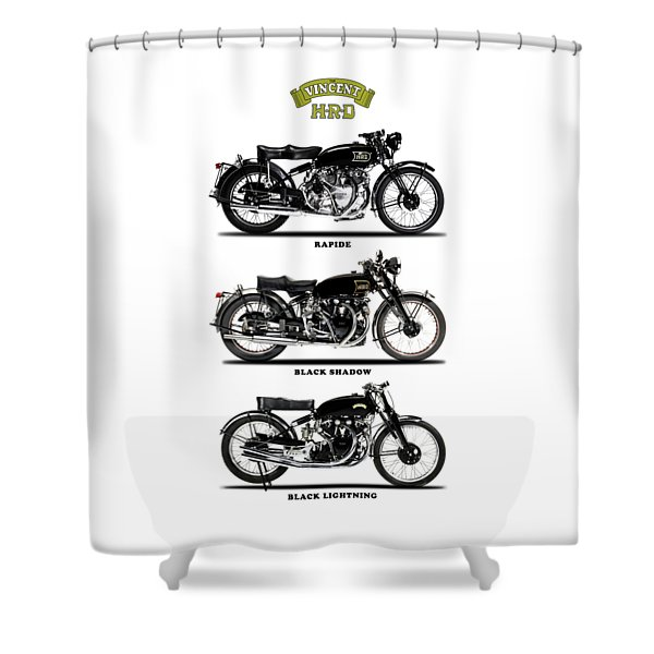 The Vincent Collection Shower Curtain