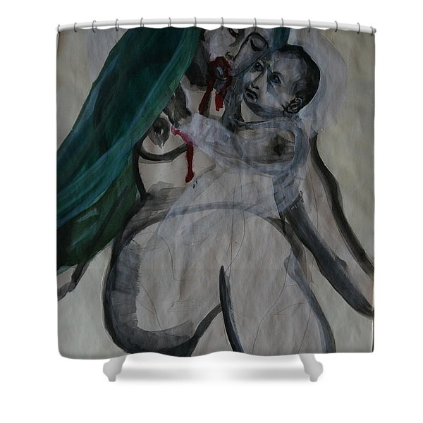 The Voice Within-listen Shower Curtain