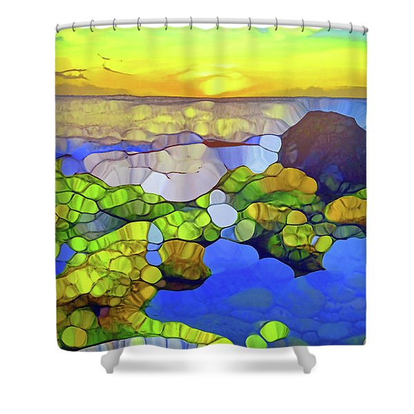 The Water Speaks To Our Souls Shower Curtain