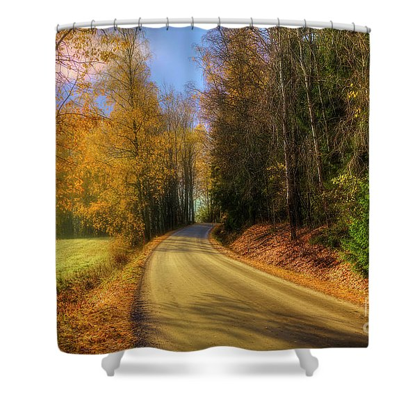 The Way To Go Shower Curtain