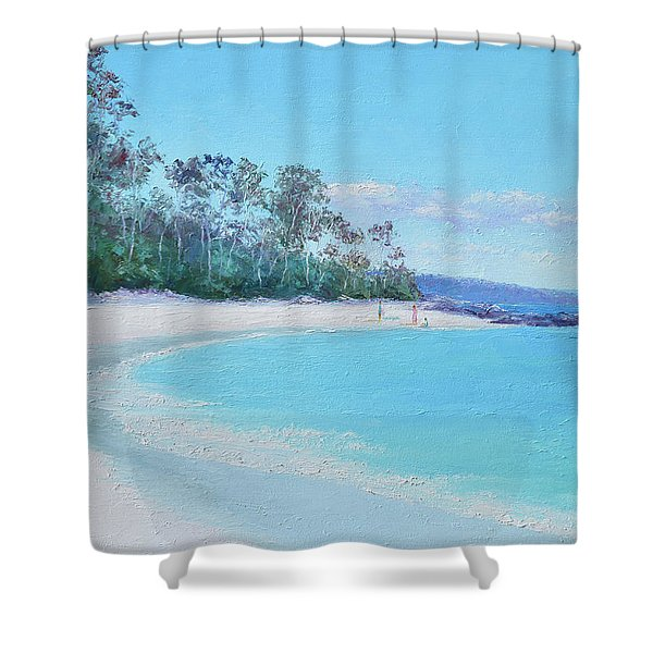 The White Sands Of Hyams Beach Shower Curtain