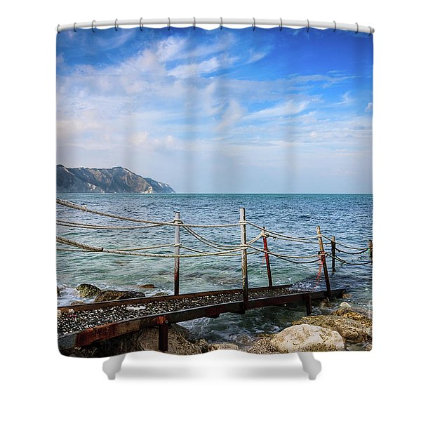 The Winter Sea #2 Shower Curtain