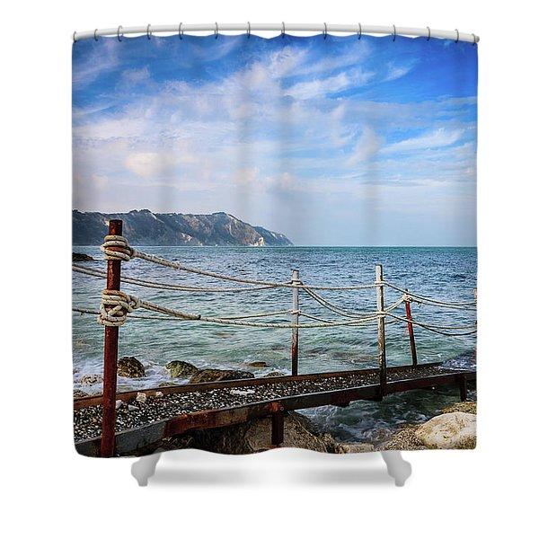 The Winter Sea #2 Shower Curtain