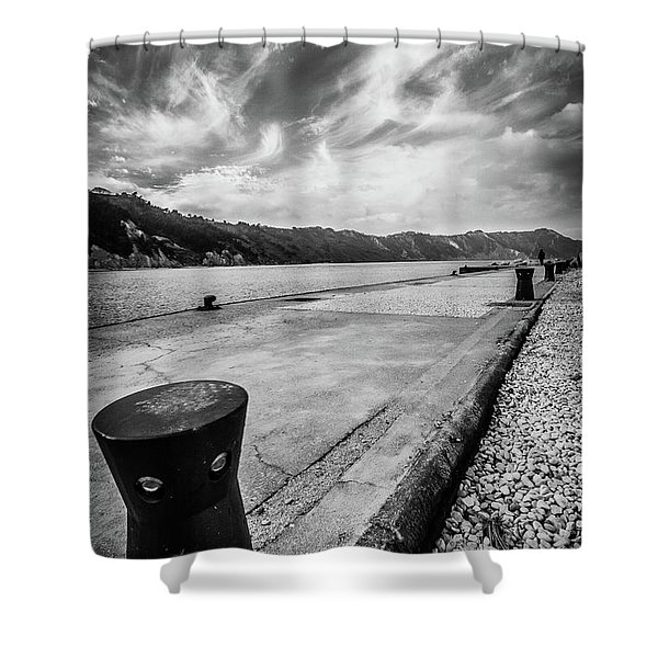 The Winter Sea #3 Shower Curtain