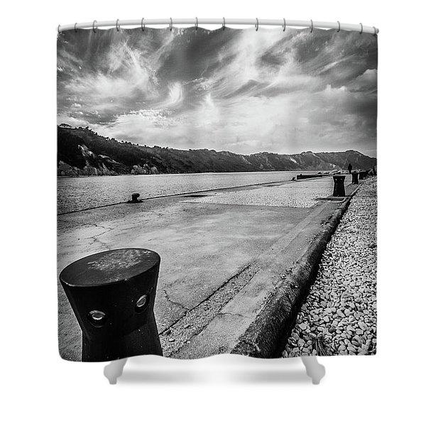 The Winter Sea #3 Shower Curtain