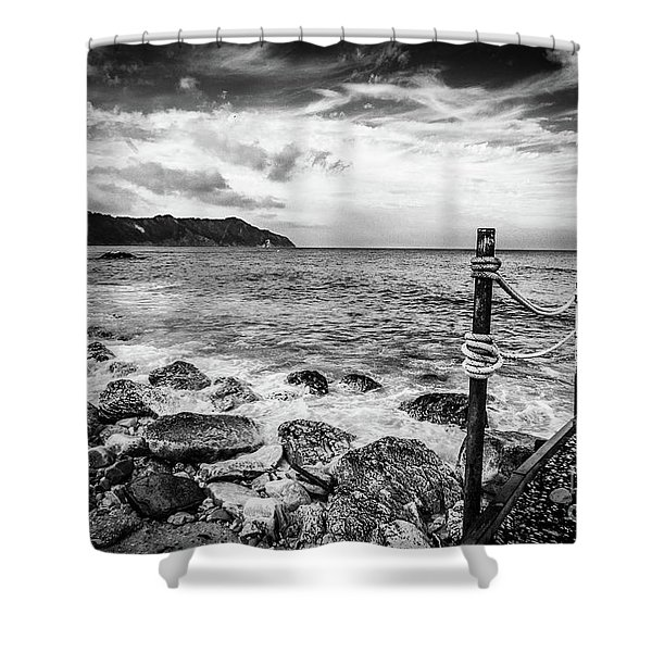 The Winter Sea #4 Shower Curtain
