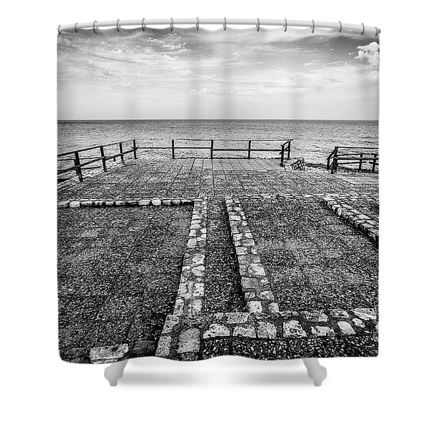 The Winter Sea #5 Shower Curtain