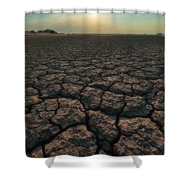 Thirsty Ground Shower Curtain