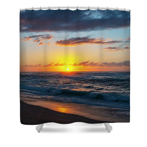 This Is Why They Call It Sunset Beach Shower Curtain
