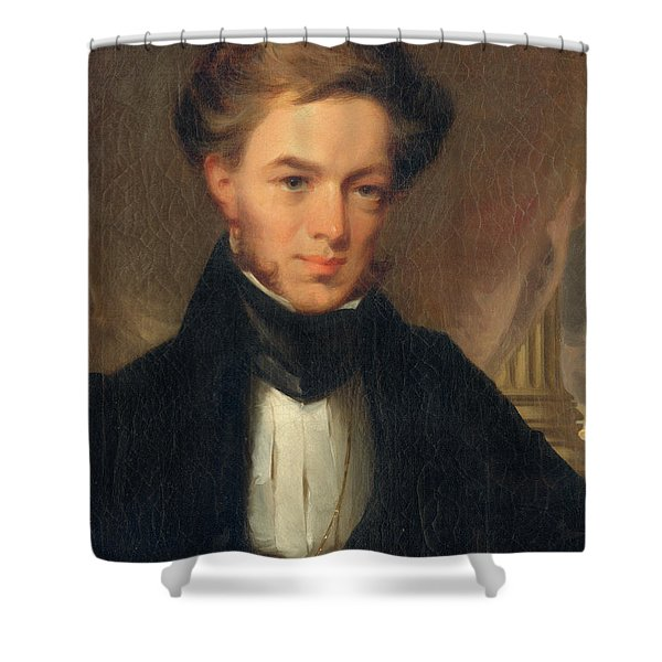 Portrait Of Thomas Ustick Walter, 1835 Shower Curtain