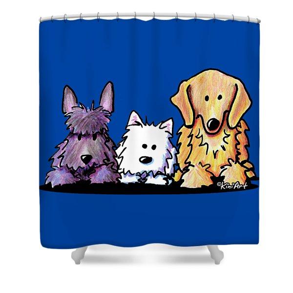 Three Dog Night Shower Curtain