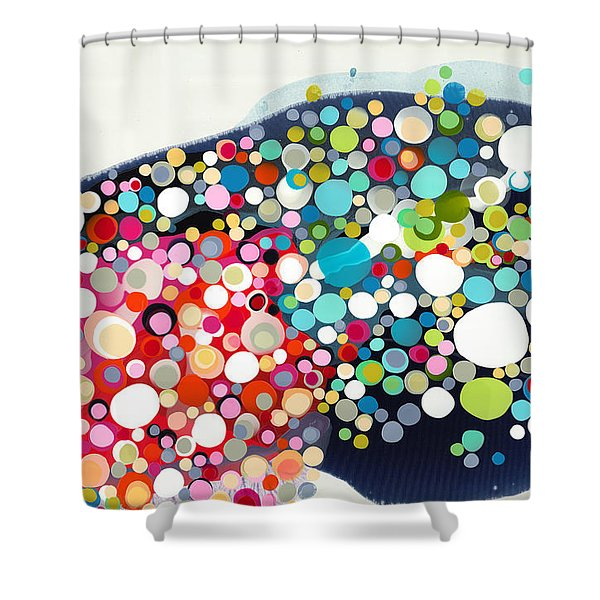 Thrill Of The Ride Shower Curtain