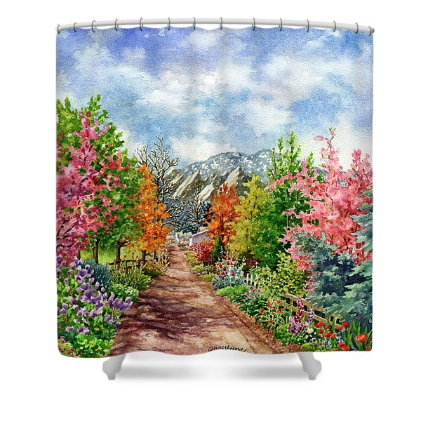 Through All Seasons Shower Curtain