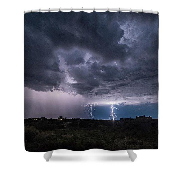Thunderstorm #2 Shower Curtain