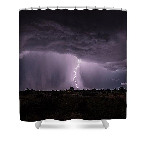Thunderstorm #4 Shower Curtain