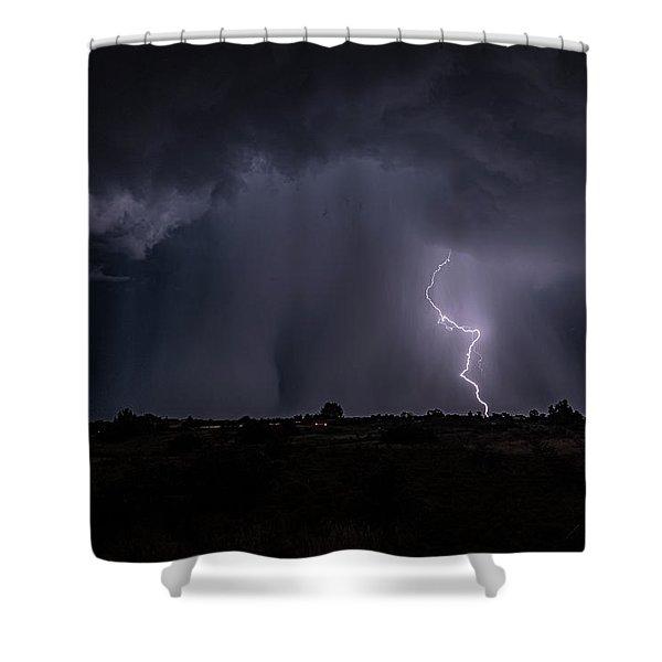 Thunderstorm #5 Shower Curtain