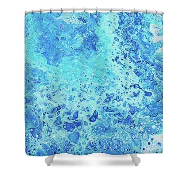 Makena Tide Pool Shower Curtain