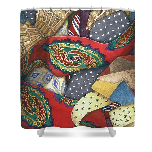 Tie One On Shower Curtain