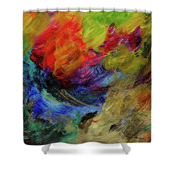 Time Changes Shower Curtain