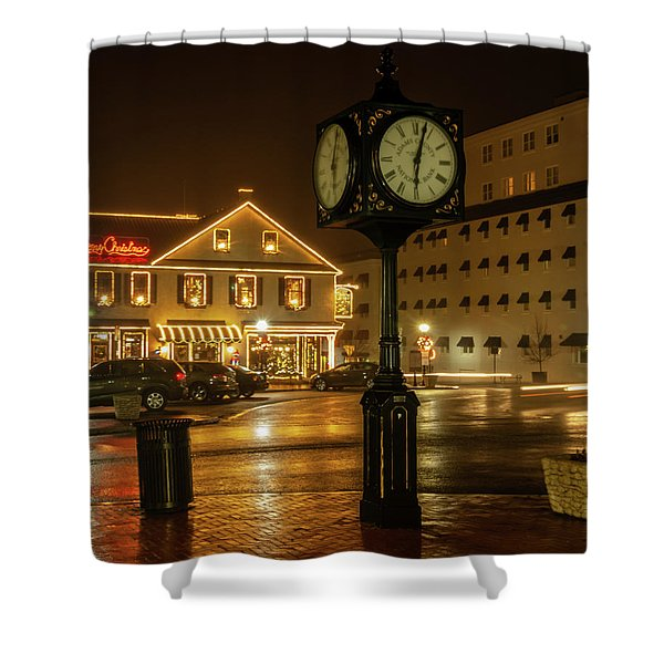Time For Christmas Shower Curtain