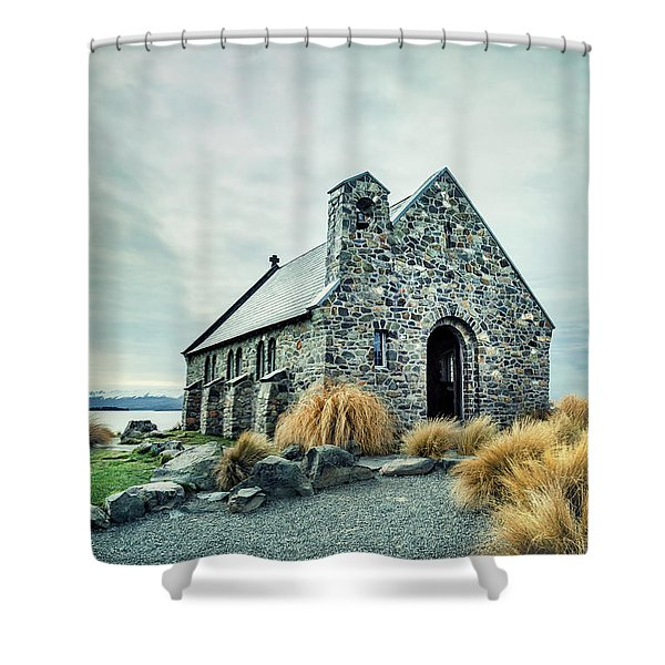 Timeless Worship Shower Curtain