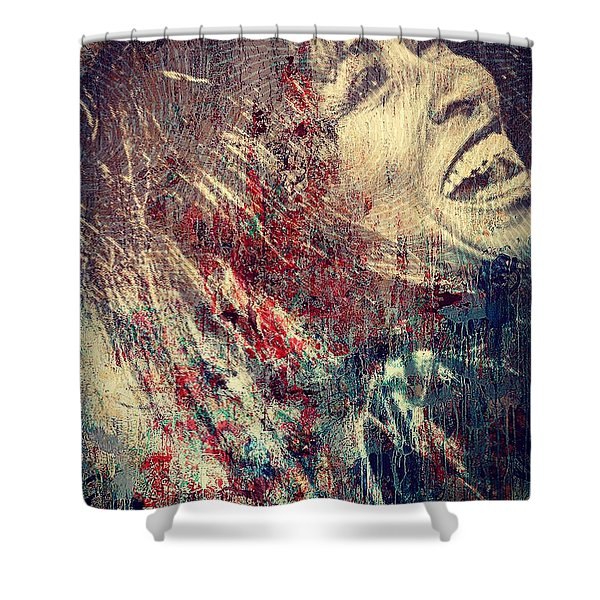 Tina Turner Spirit  Shower Curtain